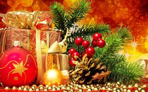 Capodanno (Natale), Palloncini, doni