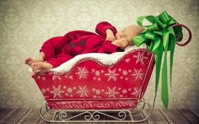 szczęśliwy, ferie, moje pierwsze święta, kochanie, dziecko, dzieciństwie, KID, KIDS