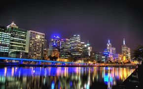 Melbourne, Australia, город
