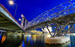 puente, Marina Bay Sands, Singapur