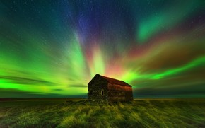 fienile abbandonato, Nord Reykjavik, Islanda