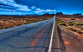 Monument Valley, USA, road