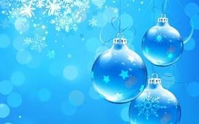Neujahr, Weihnachten, MUSTER, Ornamentik, Balls