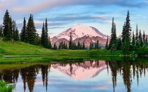 Mount Rainier National Park, Parchi nazionali, Luoghi, Tipsoo Lago, USA