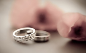 miscellanea, ring, Rings, Diamonds, Gems, wedding rings, Flowers, degradation, background, wallpaper, Widescreen, fullscreen, Widescreen, HD wallpapers, background, wallpaper, widescreen, fullscreen