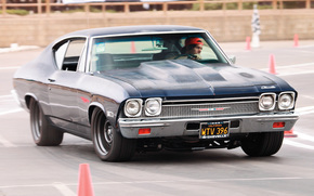 muscle cars, macchine americane, chevy, chevrolet, 1968, SS