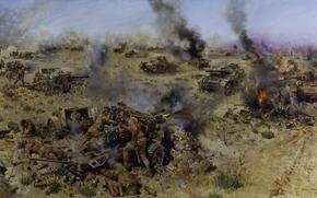 Batalha Knightsbridge, 06 de junho de 1942, Tanques, Armas, tiroteio