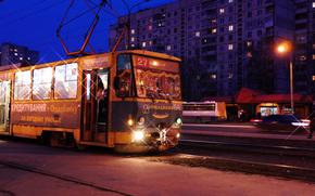 Kharkov, Tram, evening