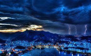 noite, Brasil, Rio de Janeiro