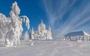 invierno, schnee, natur