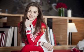 Adelina Sotnikova, beauty, sportswoman, Champion