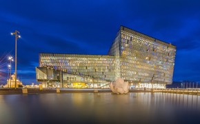 Harpa sala da concerto, Reykjavik, islanda, Reykjavik, Islanda