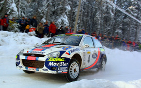 WRC 2001, Swedish Rally, Ford Focus WRT, Colin McRae