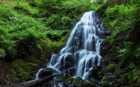 仙女瀑布, 俄勒冈州, 瀑布