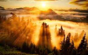 Lookout, Washington, Sunse