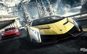 Need for Speed: Rivals, Lamborghini Veneno, Dodge SRT Viper, Maserati GranTurismo MC Stradale