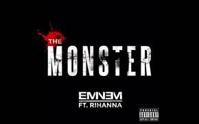 Eminem, The Monster, Rihanna, music