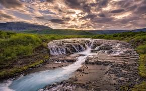Исландия, миссия урожай исландский родниковой воды, Bruarfoss