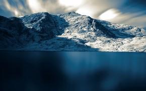mare, Montagne, neve