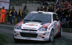 Ford focus, WRC 2000, Rally car