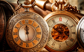 Vintage, Antique, Pocket, watch