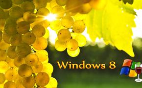 windows 8, 3d, papel pintado