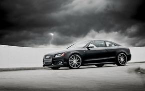 audi, RS5, Audi, Black