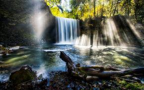 Beaver Falls, Oregon, cascade