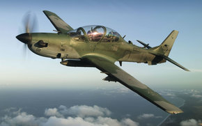 Training, battle, plane, EMB-314 Super Tucano
