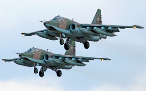 attack plane, Searching, Su-25, couple