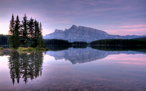 Two Jack Lake, Banff National Park, landscape