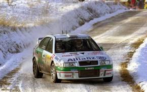WRC 2001, オクタヴィア, モンテカルロ