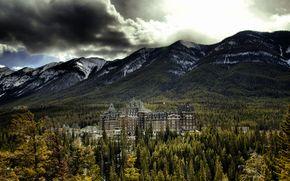 Banff Springs Hotel, バンフ, アルバータ, カナダ, ホテル