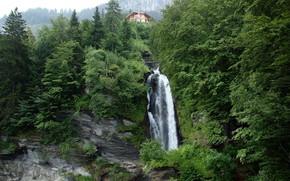 Reichenbach Falls, Suisse, cascade