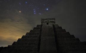 Орион, пирамида, 明星