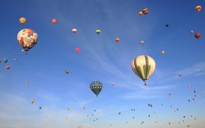 Balloon Classic, Palloncini, cielo