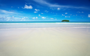 Sea, sand, beach, paradise