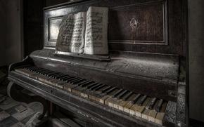 Music, music, piano