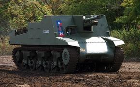 «Секстон», instalación, класса самоходных гаубиц, самоходно-артиллерийская