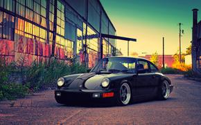 nero, costruzione, Porsche