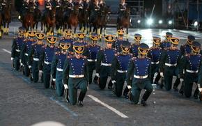Спасская башня, Фестиваль, Преображенский полк