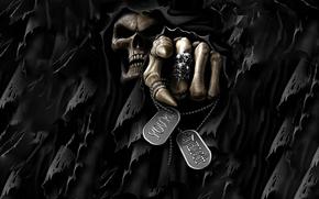 skull, SKELETON, monster