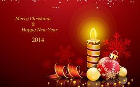 Happy New Year, 2014, wallpaper