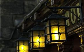 wallpaper, Mood, background, light, Widescreen, fullscreen, degradation, flashlight, lantern, Widescreen, lights