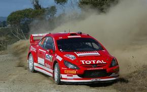 Wrc, 2005, Peugeot, 307, Rally New Zealand