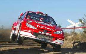 Wrc, 2003, Peugeot, 206, rally Argentina