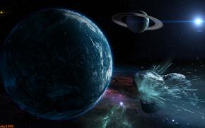 流星, 爆炸, 小行星, 陨石, Kameta