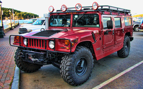 Hummer, Hummer, Cross-country vehicle