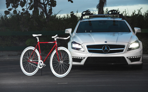 bike, tuning, Mercedes, Mercedes