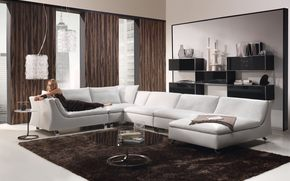 living room, design, style, interior